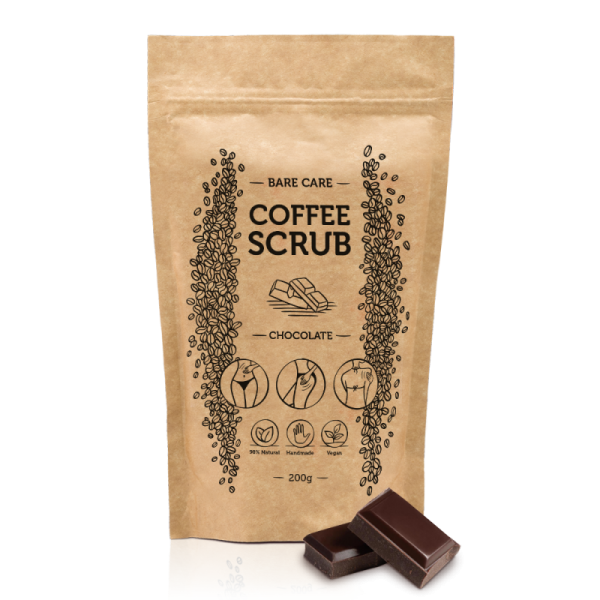 BARE CARE – Coffee Scrub – Chocolate 200 g