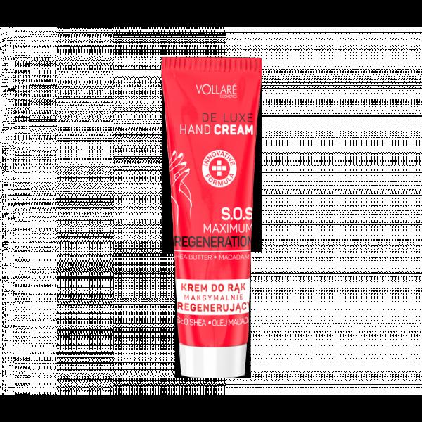 VOLLARÉ - De Luxe SOS krém na ruky s makadámiovým olejom 100 ml