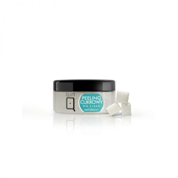 QUIN – Telový cukrový peeling naturálny 300 ml