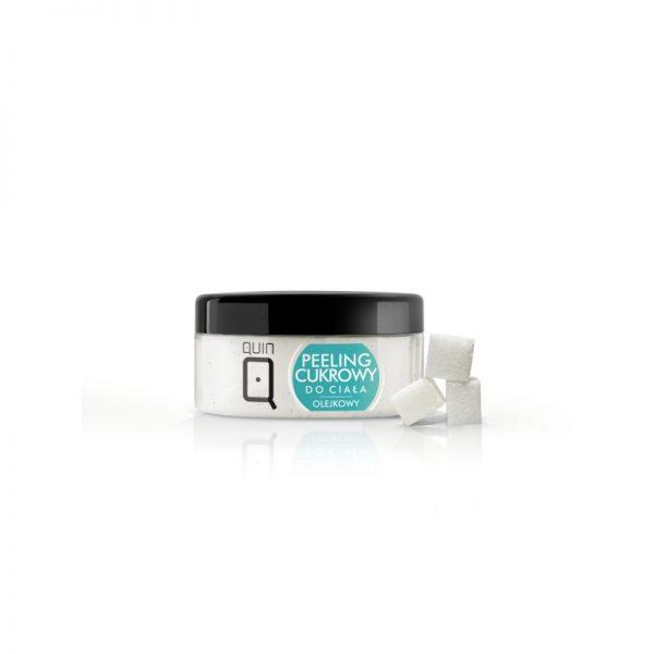 QUIN – Telový cukrový peeling s olejom 300 ml