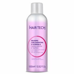 Hair Tech - Balzam na vlasy s keratínom a vit. E 1000 ml