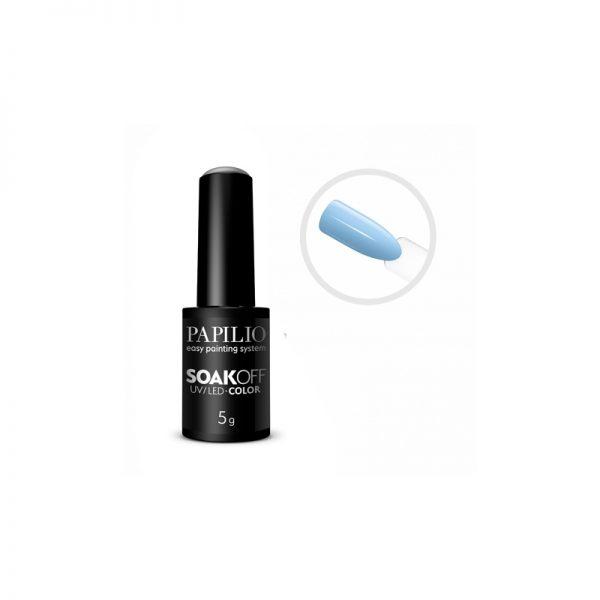 PAPILIO Soak off - Gel lak vhodný do UV aj LED lampy - 701 - 5 ml