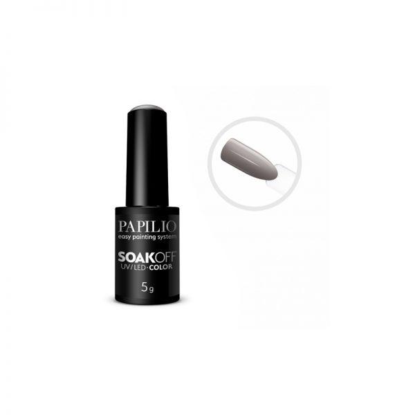 PAPILIO Soak off - Gel lak vhodný do UV aj LED lampy - 214 - 5 ml