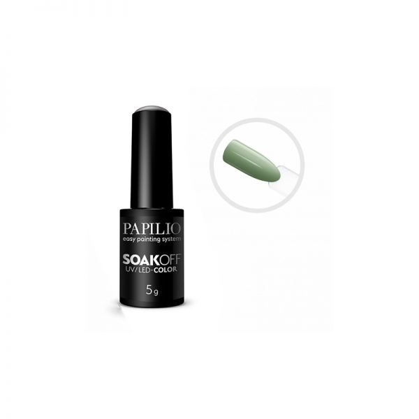 PAPILIO Soak off - Gel lak vhodný do UV aj LED lampy - 801 - 5 ml