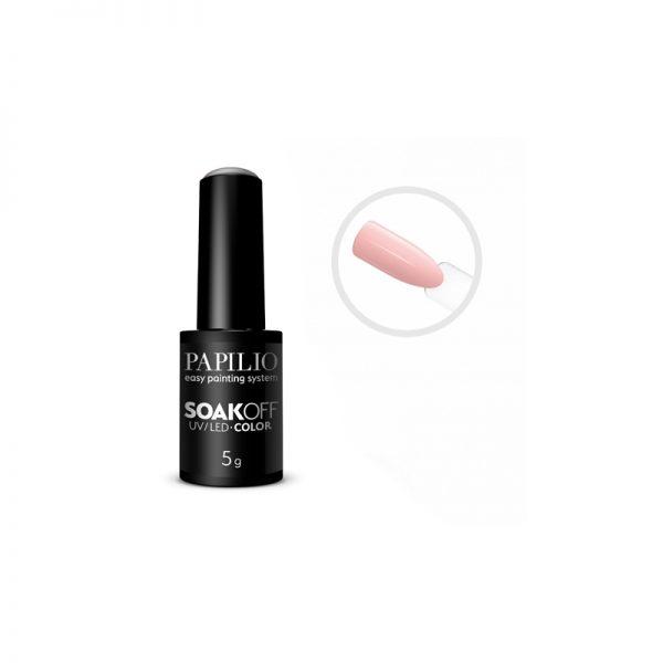 PAPILIO Soak off - Gel lak vhodný do UV aj LED lampy - 107 - 5 ml