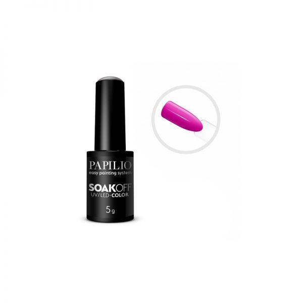 PAPILIO Soak off - Gel lak vhodný do UV aj LED lampy - 540- 5 ml