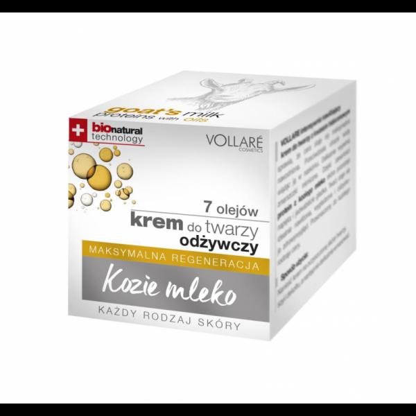 VOLLARÉ - Denný krém s kozím mliekom a 7 olejmi 50 ml