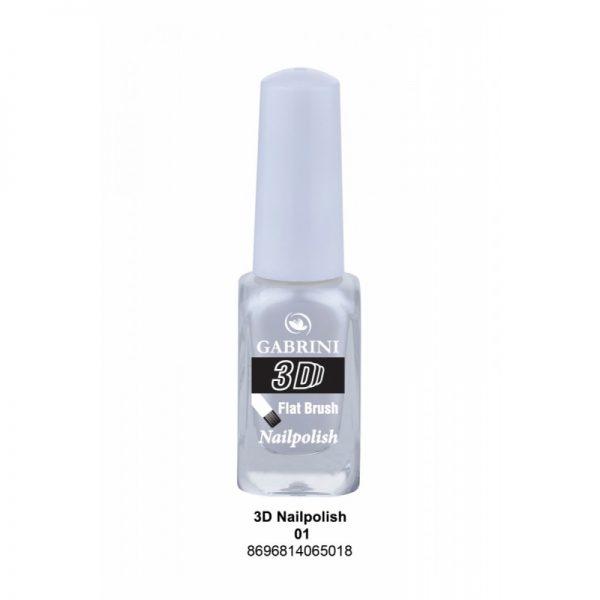 GABRINI - Lak na nechty 3D 1 - 13 ml
