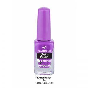 GABRINI - Lak na nechty 3D 20 - 13 ml