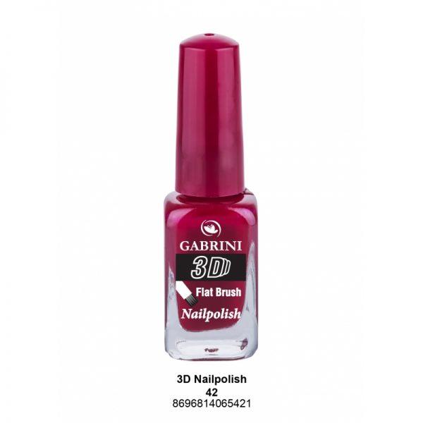 GABRINI - Lak na nechty 3D 42 - 13 ml