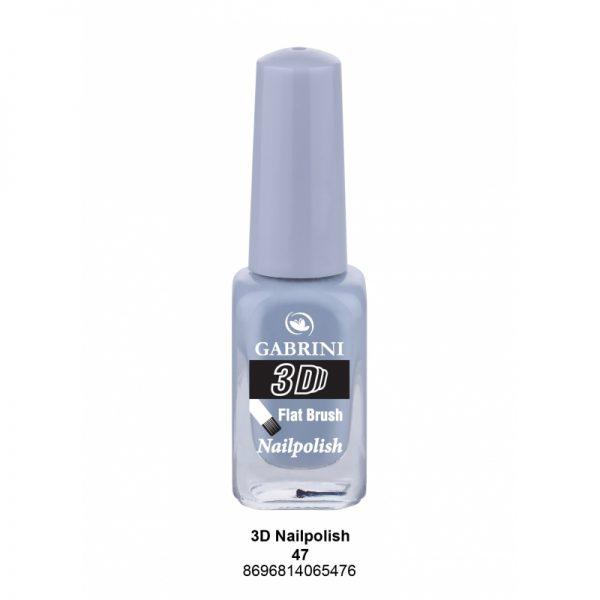 GABRINI - Lak na nechty 3D 47 - 13 ml