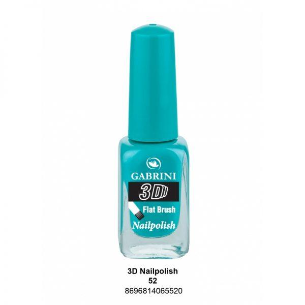 GABRINI - Lak na nechty 3D 52 - 13 ml