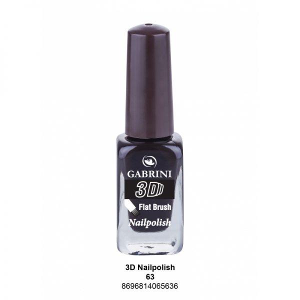 GABRINI - Lak na nechty 3D 63 - 13 ml