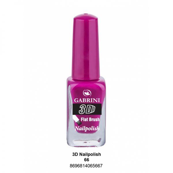 GABRINI - Lak na nechty 3D 66 - 13 ml