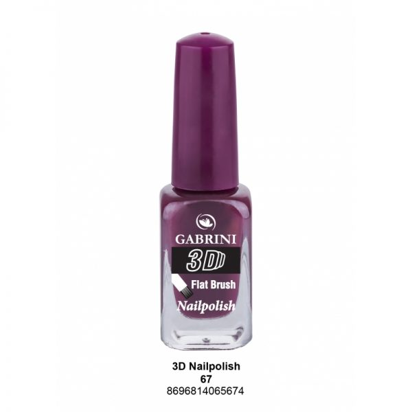 GABRINI - Lak na nechty 3D 67 - 13 ml