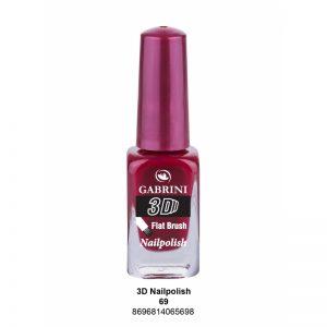 GABRINI - Lak na nechty 3D 69 - 13 ml