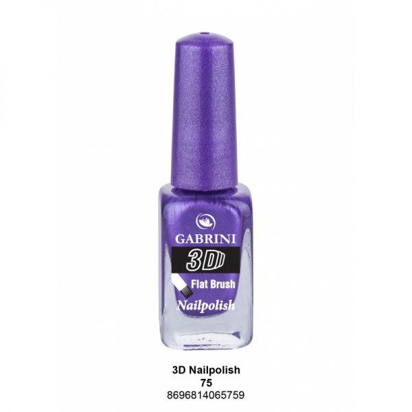 GABRINI - Lak na nechty 3D 75 - 13 ml