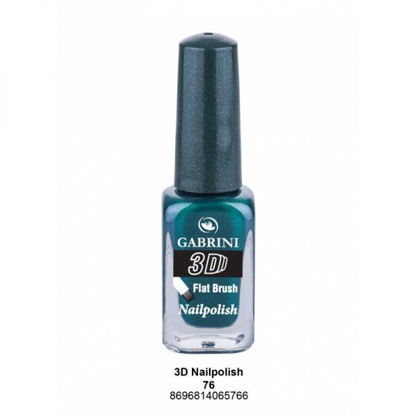 GABRINI - Lak na nechty 3D 76 - 13 ml