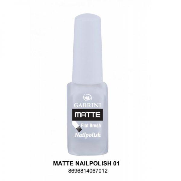 GABRINI - Matný lak na nechty MATTE 1 - 13 ml