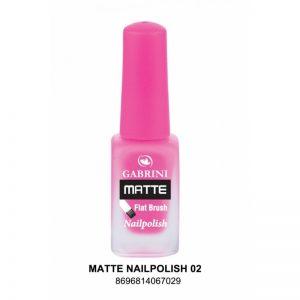 GABRINI - Matný lak na nechty MATTE 2 - 13 ml