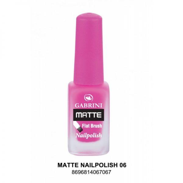 GABRINI - Matný lak na nechty MATTE 6 - 13 ml