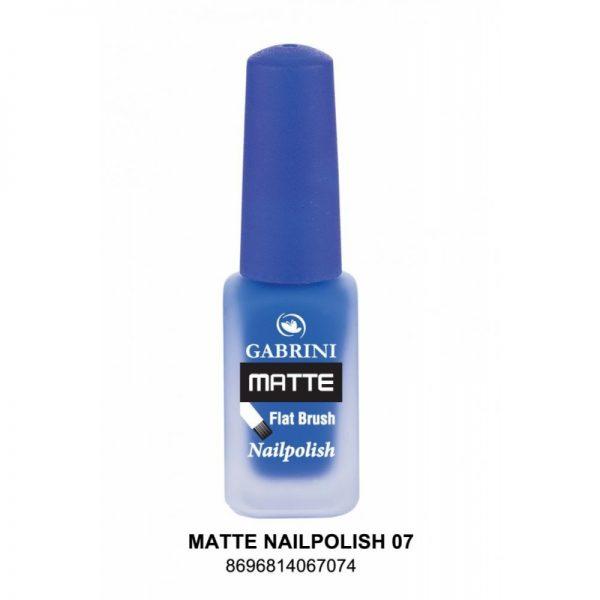 GABRINI - Matný lak na nechty MATTE 7 - 13 ml