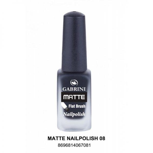 GABRINI - Matný lak na nechty MATTE 8 - 13 ml