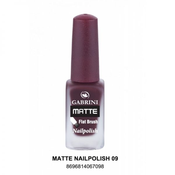 GABRINI - Matný lak na nechty MATTE 9 - 13 ml