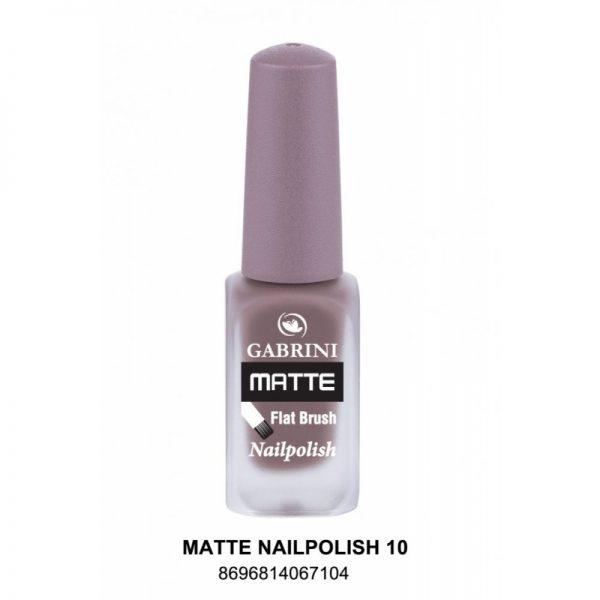 GABRINI - Matný lak na nechty MATTE 10 - 13 ml