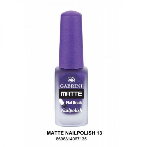 GABRINI - Matný lak na nechty MATTE 13 - 13 ml