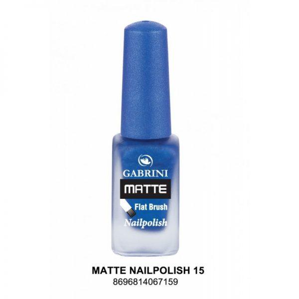 GABRINI - Matný lak na nechty MATTE 15 - 13 ml