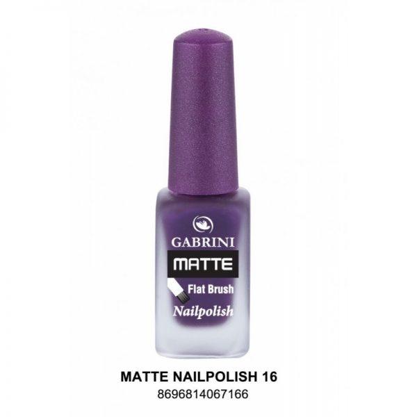 GABRINI - Matný lak na nechty MATTE 16 - 13 ml