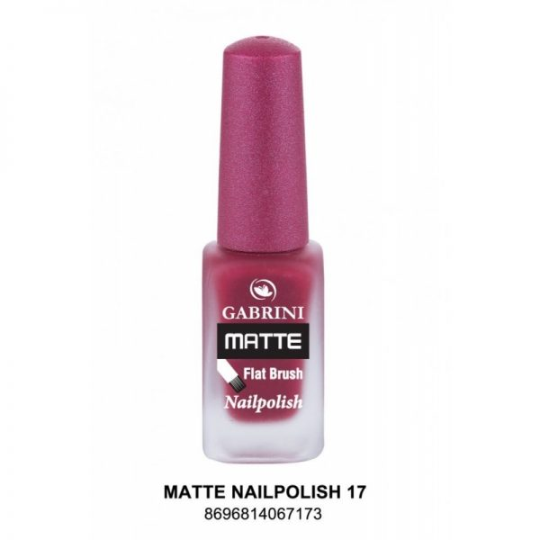 GABRINI - Matný lak na nechty MATTE 17 - 13 ml