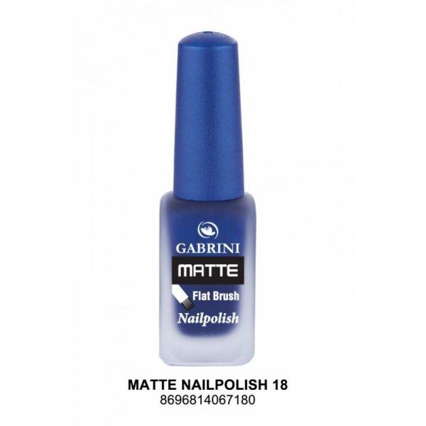 GABRINI - Matný lak na nechty MATTE 18 - 13 ml