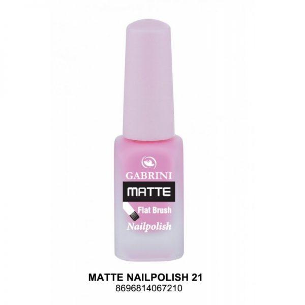 GABRINI - Matný lak na nechty MATTE 21 - 13 ml
