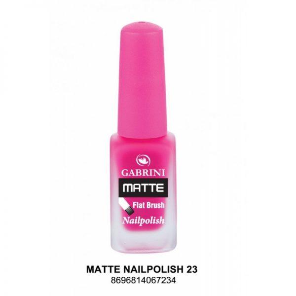 GABRINI - Matný lak na nechty MATTE 23 - 13 ml