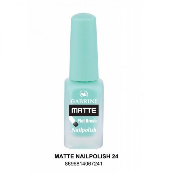 GABRINI - Matný lak na nechty MATTE 24 - 13 ml