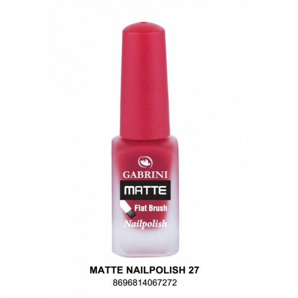 GABRINI - Matný lak na nechty MATTE 27 - 13 ml