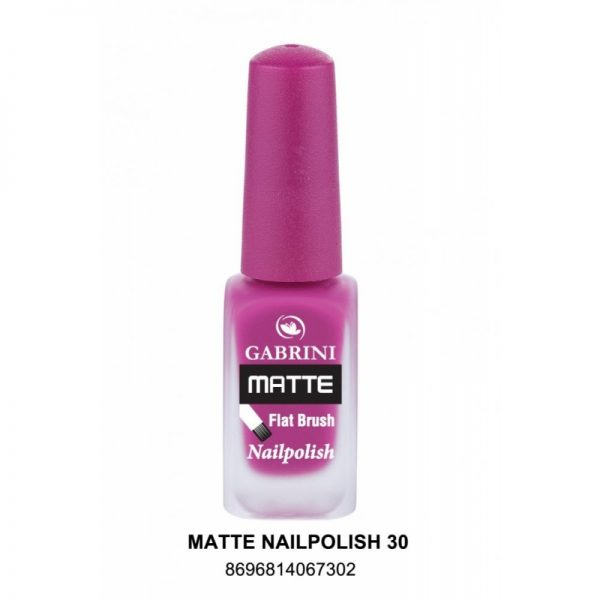 GABRINI - Matný lak na nechty MATTE 30 - 13 ml