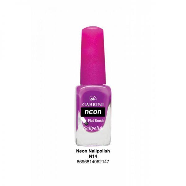 GABRINI - Lak na nechty NEON 14 - 13 ml