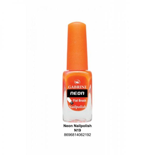 GABRINI - Lak na nechty NEON 19 - 13 ml