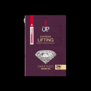 Skin Up - Liftingová maska s 24 karátovým zlatom 2 x 5 ml