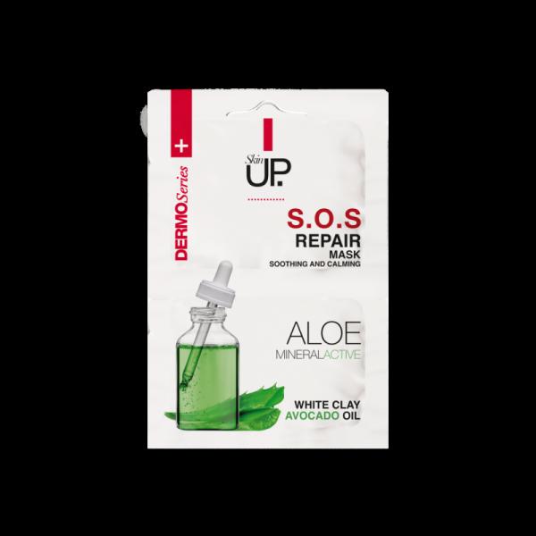 Skin Up - Reparačná maska s Aloe Vera 2 x 5 ml